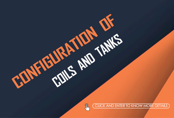 Configuration of Coils and Tanks