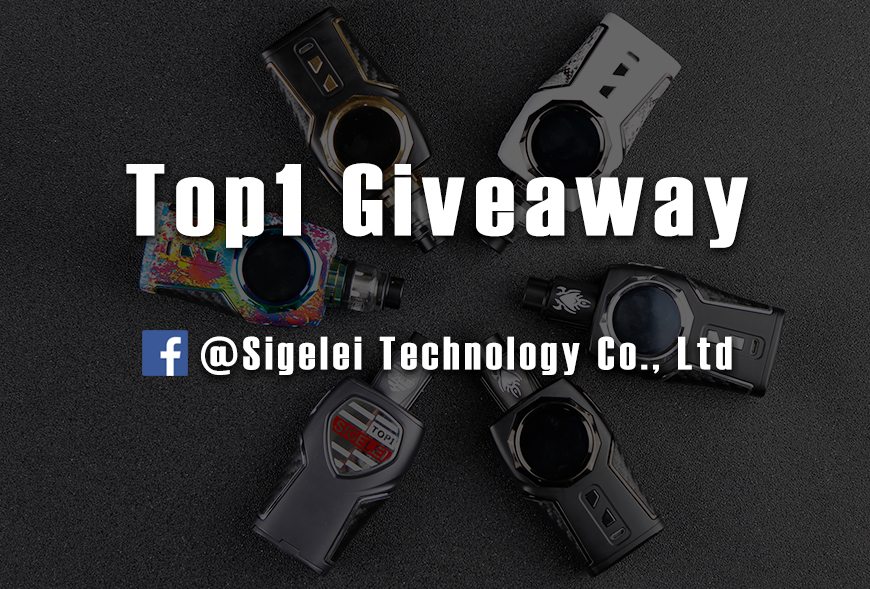 Sigelei Facebook Top 1 Giveaway