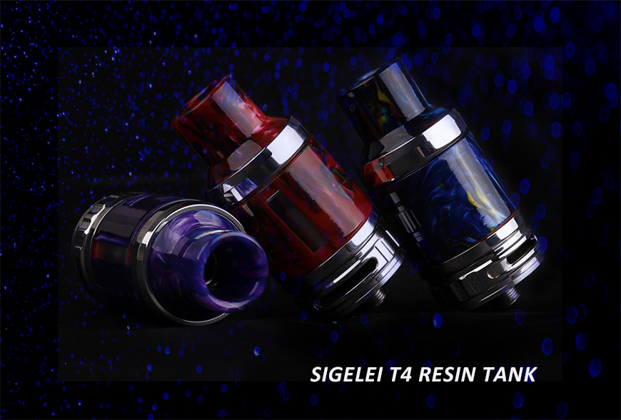 Sigelei T4 Resin Tank Launch