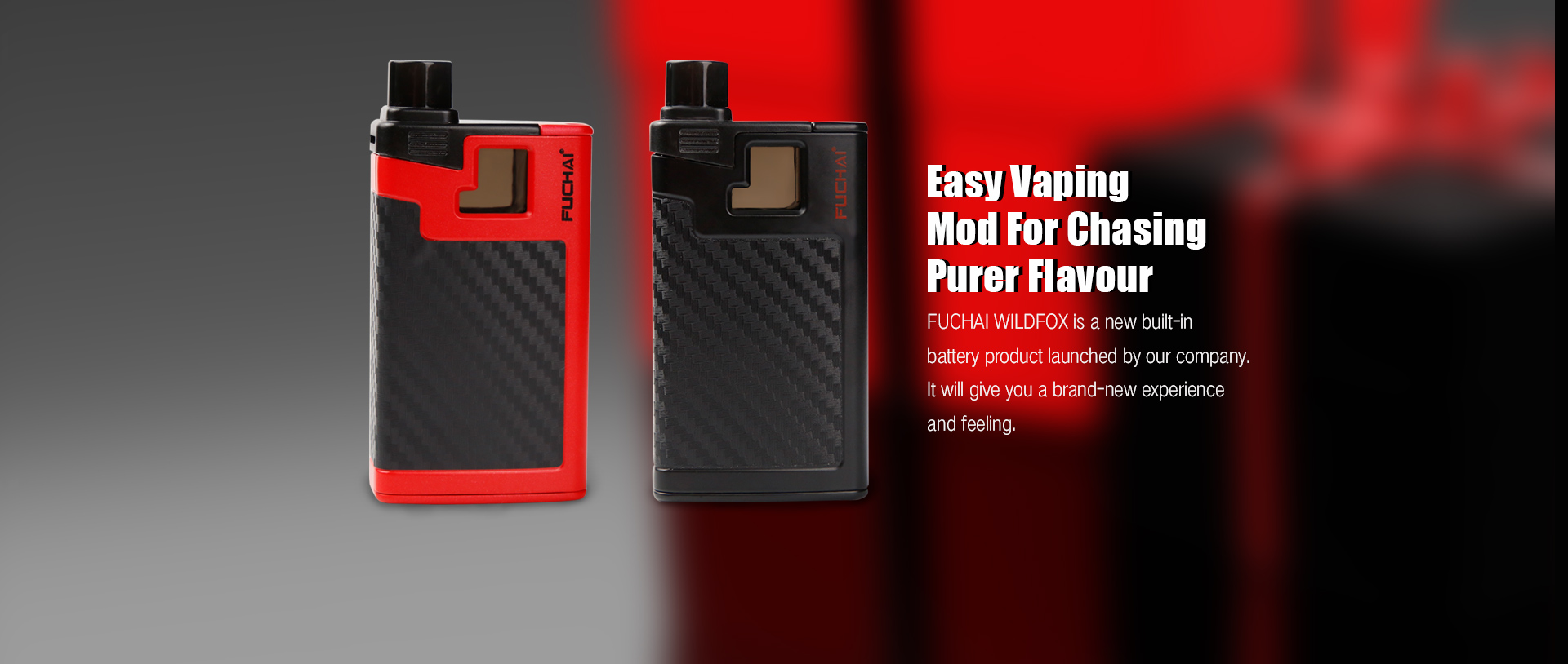 Fuchai Wildfox Kit_Sigelei - Vape It, Love It